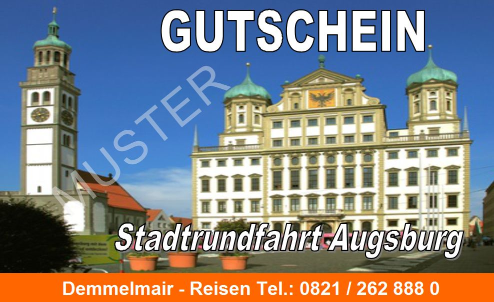 stadtrundfahrt augsburg gutschein